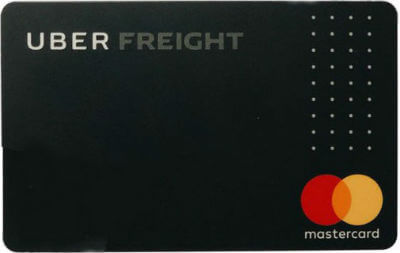 Uber Freight Fleet Card