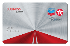 Chevron Texaco fleet card