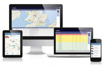 Quartix truck GPS tracking software