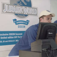 Epos Now used at the Jurassic World launch event