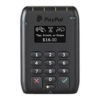 Square vs PayPal: PayPal card reader