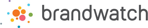 Brandwatch social media management company logo