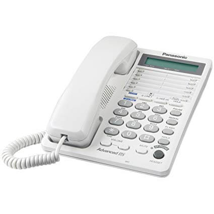 Panasonic KX-TS208W 2-Line Corded Speakerphone