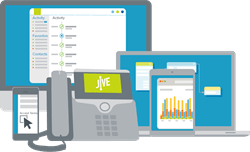 Jive VoIP icons