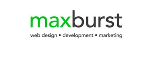 MaxBurst web design company logo