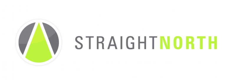 Straight North web design company logo