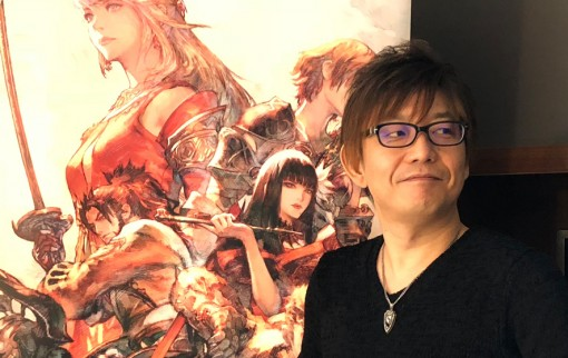 Interview de Naoki Yoshida, réalisateur de Final Fantasy XIV, à Paris Games Week