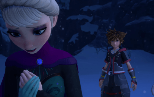 Kingdom Hearts III - Frozen / La Reine des Neiges