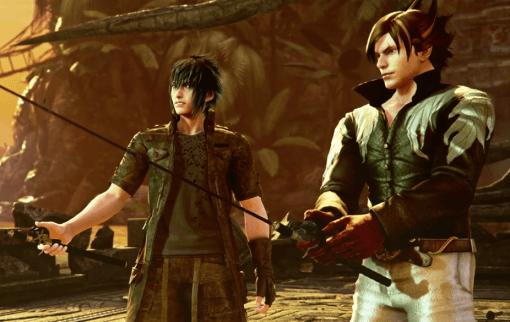 Noctis de Final Fantasy XV dans Tekken 7