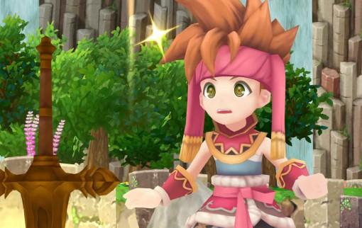 Secret of Mana : images du remake 3D sur PS4, Vita et PC
