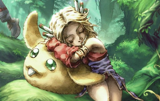 Artwork de Legend of Mana