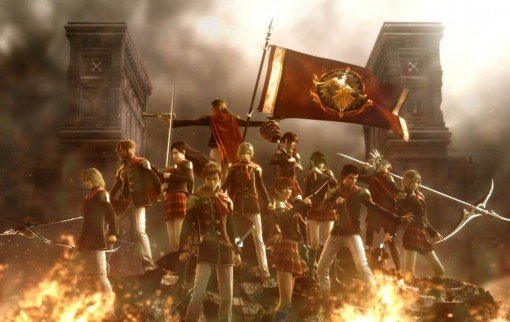 Final Fantasy Type-0 - Artwork