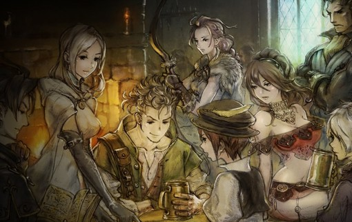 Artwork d'Octopath Traveler