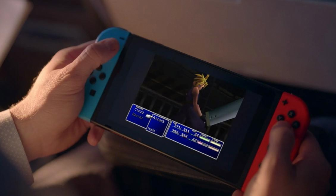 Final Fantasy VII sur Switch