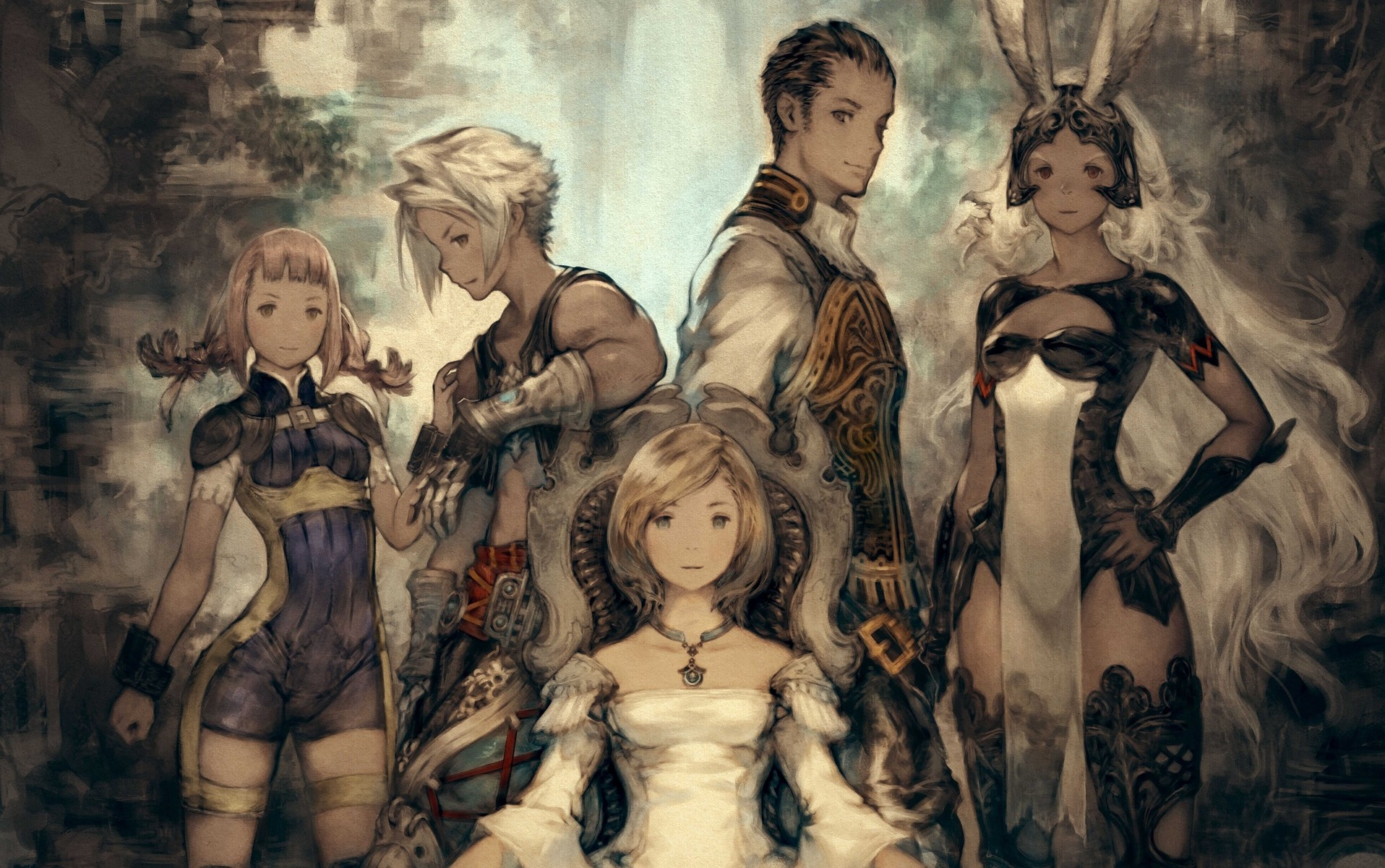 Final Fantasy XII: The Zodiac Age par Akihiko Yoshida