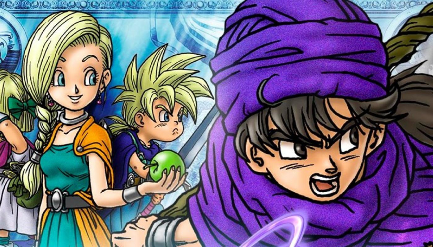 Dragon Quest V : La Fiancée céleste - Bandeau