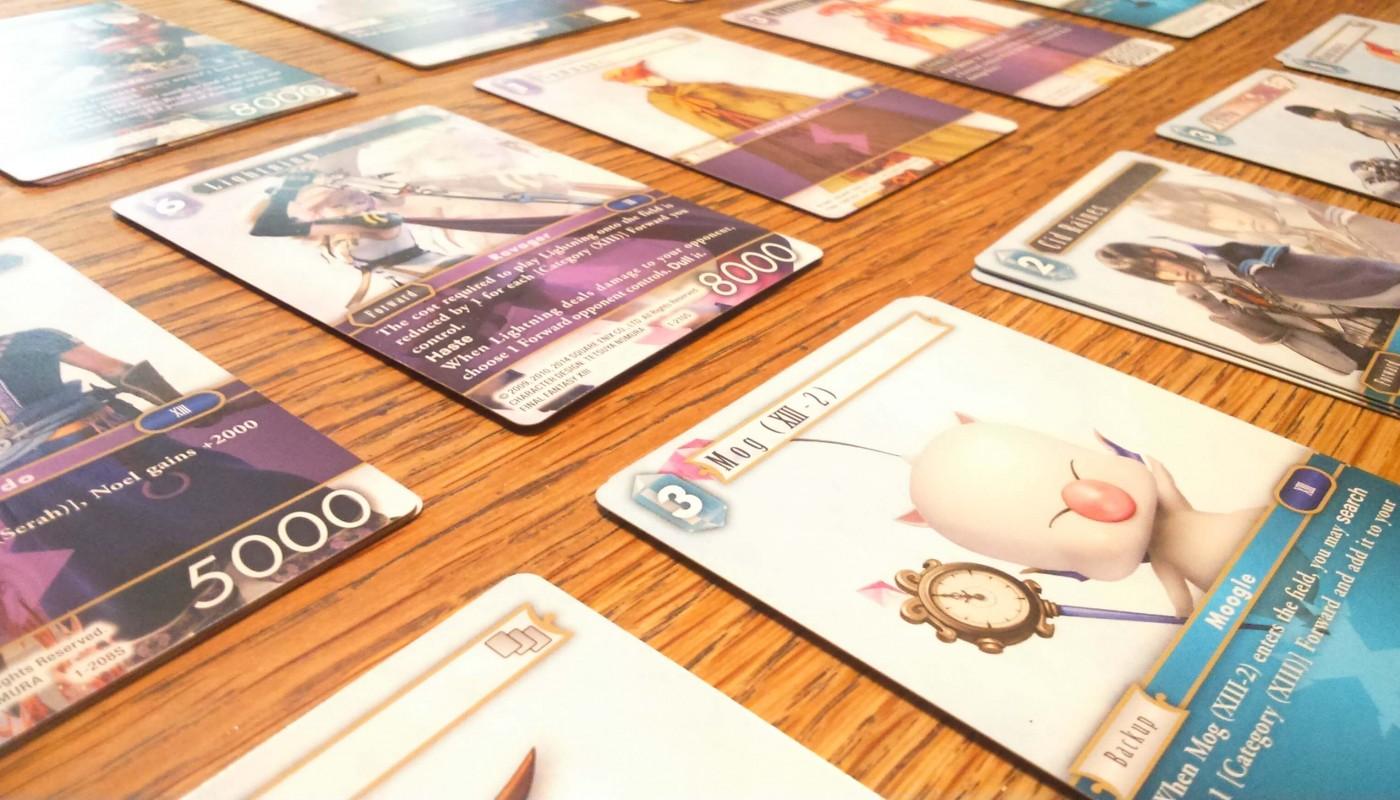 Artwork de Final Fantasy Trading Card Game