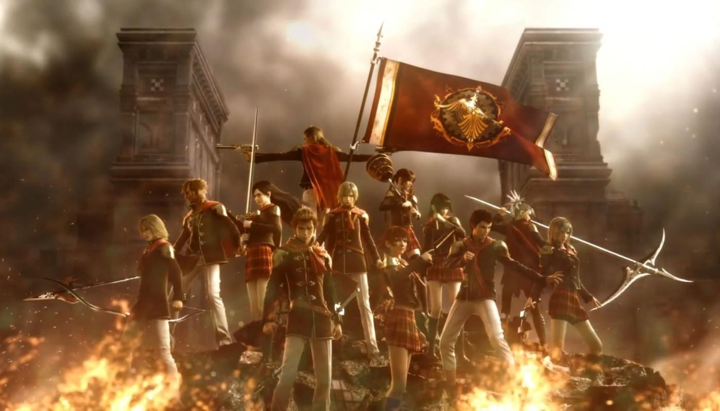 Final Fantasy Type-0 - Artwork