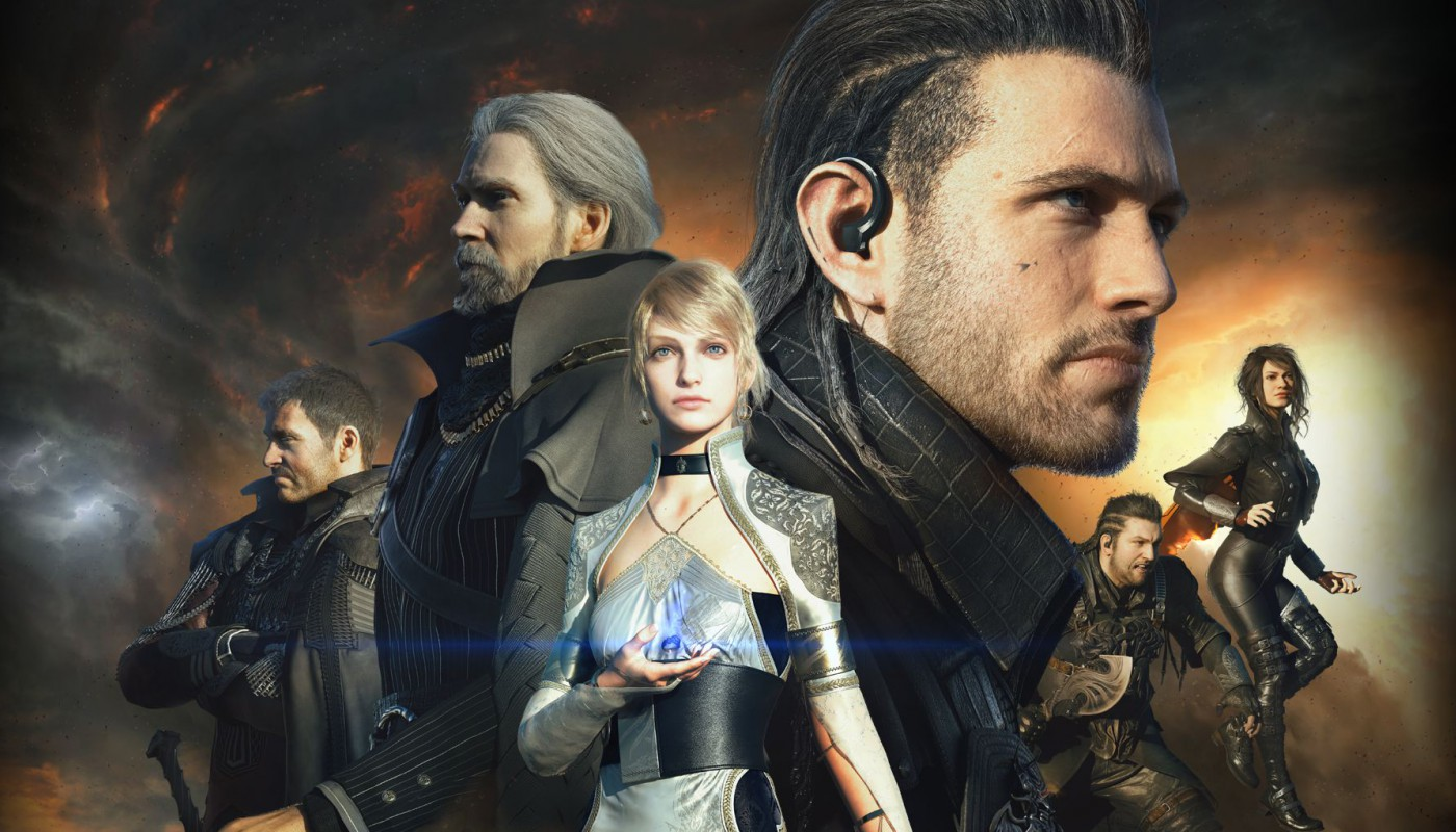 Kingsglaive Final Fantasy - Artwork