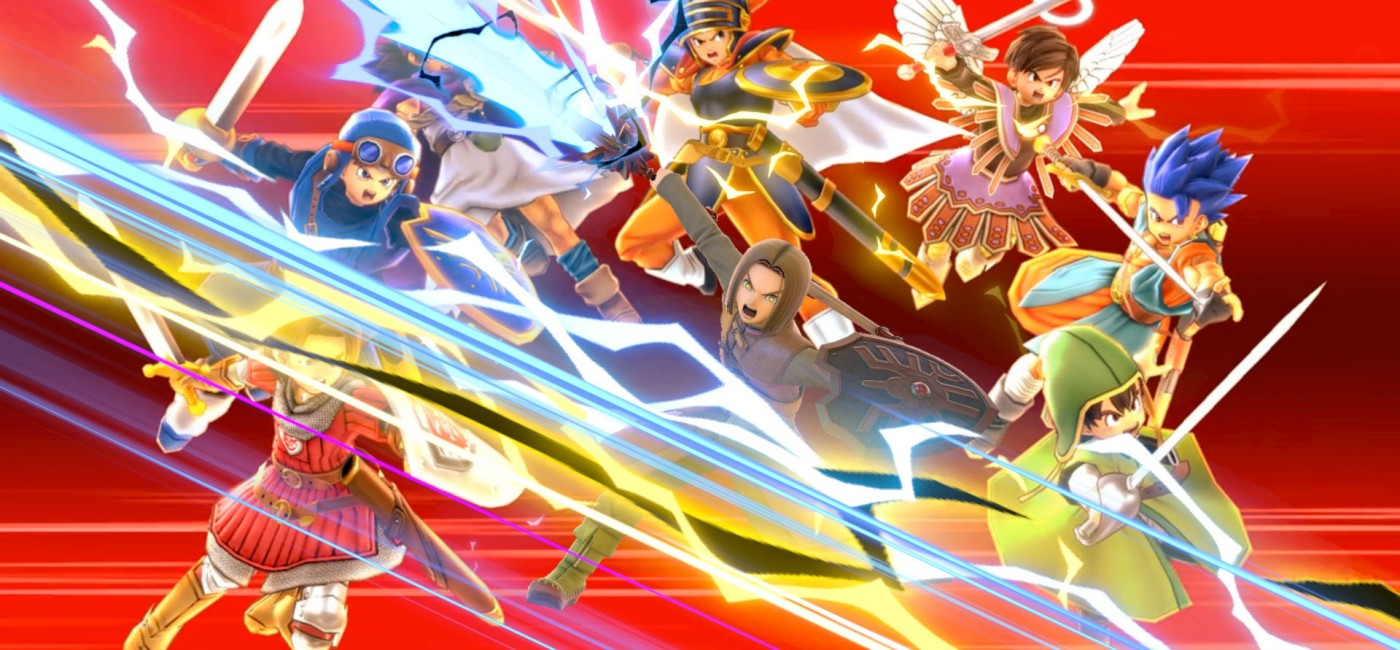 Le Héros de Dragon Quest dans Super Smash Bros. Ultimate
