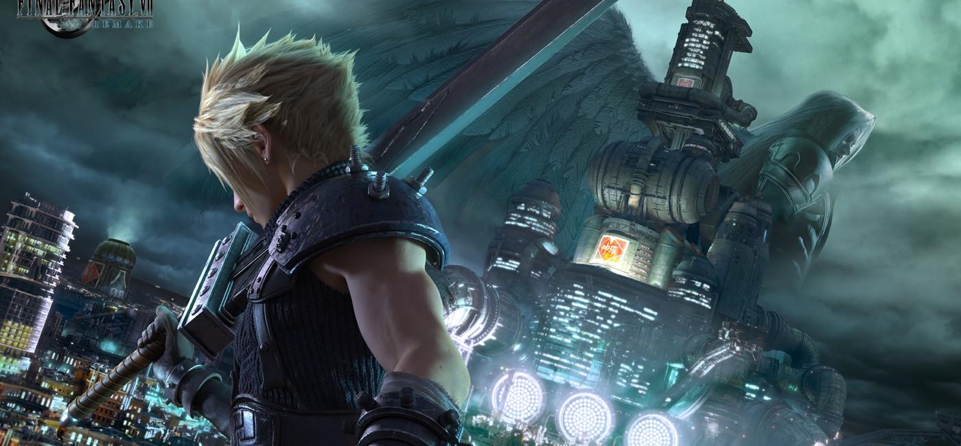 Final Fantasy VII Remake : illustration de la cérémonie des 30 ans de Final Fantasy