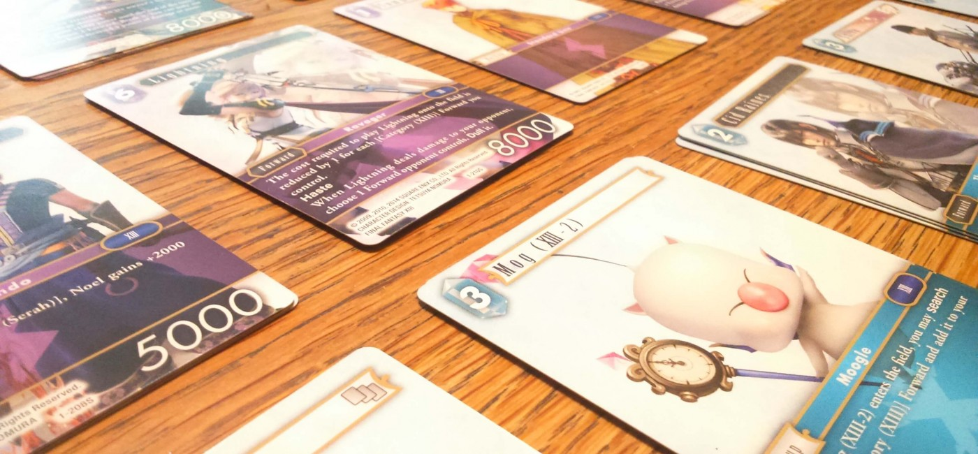 Artwork de Final Fantasy Trading Card Game