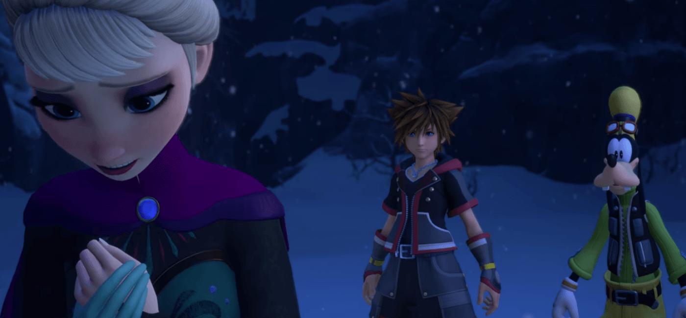 Kingdom Hearts III - Frozen / La Reine des Neiges
