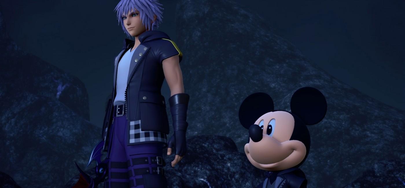 Kingdom Hearts III à la conférence Square Enix de l'E3 2018