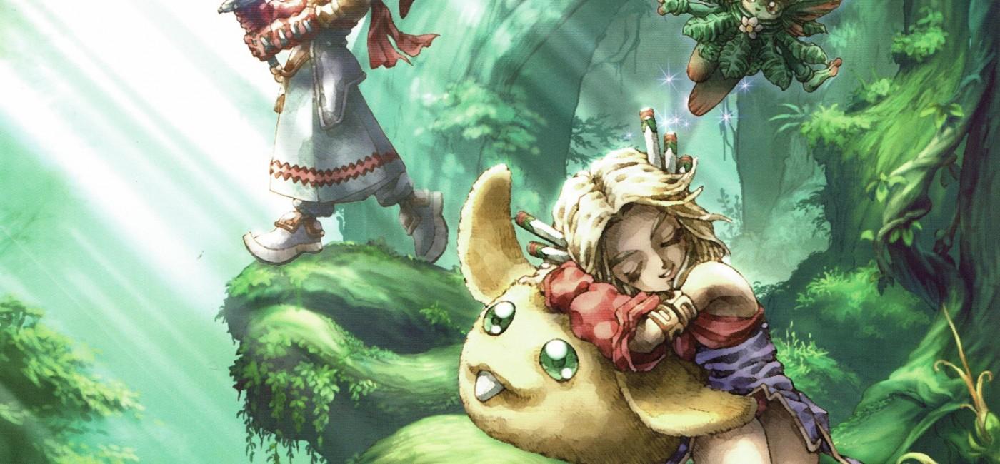 Artwork de Legend of Mana