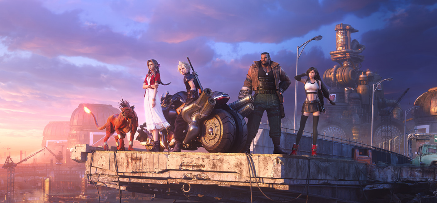 Final Fantasy VII Remake - Artwork Midgar
