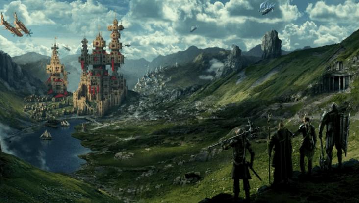 Artwork de Final Fantasy Project W par Eidos Montréal