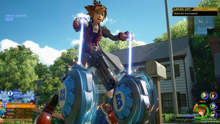 Des images de Kingdom Hearts III au Premium Showcase