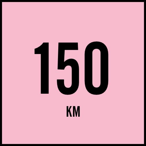 150Km