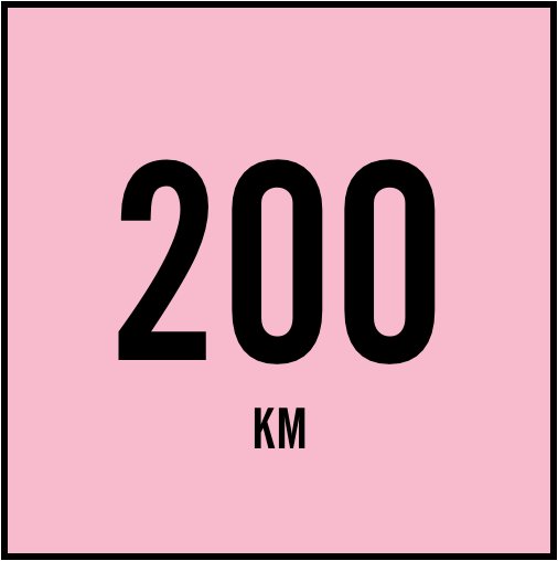 200Km