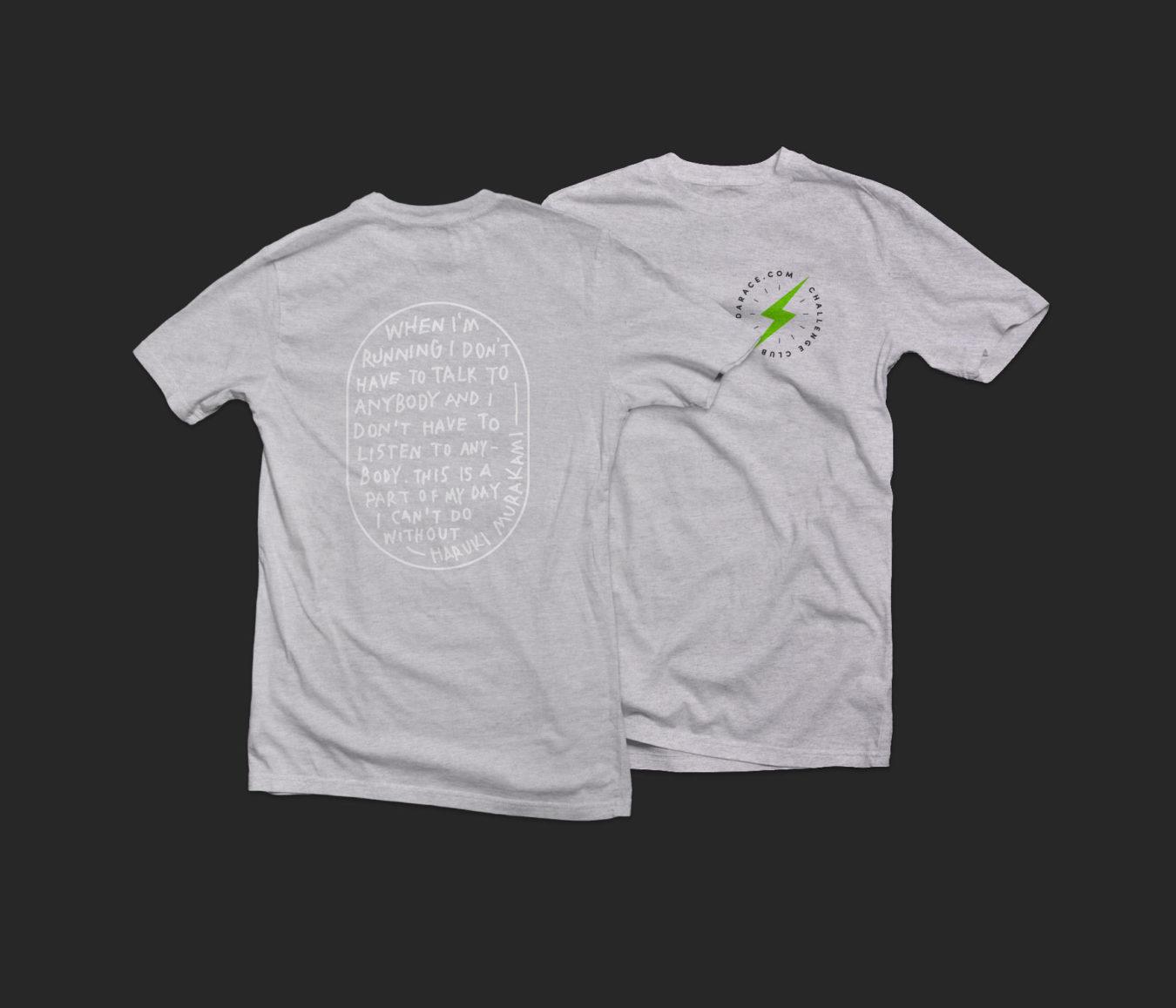 T Shirt Mockup Grey