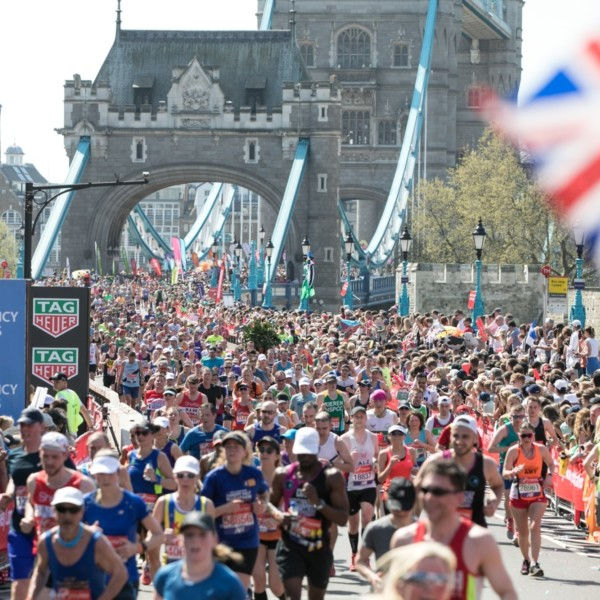 London Marathon Tower Bridge