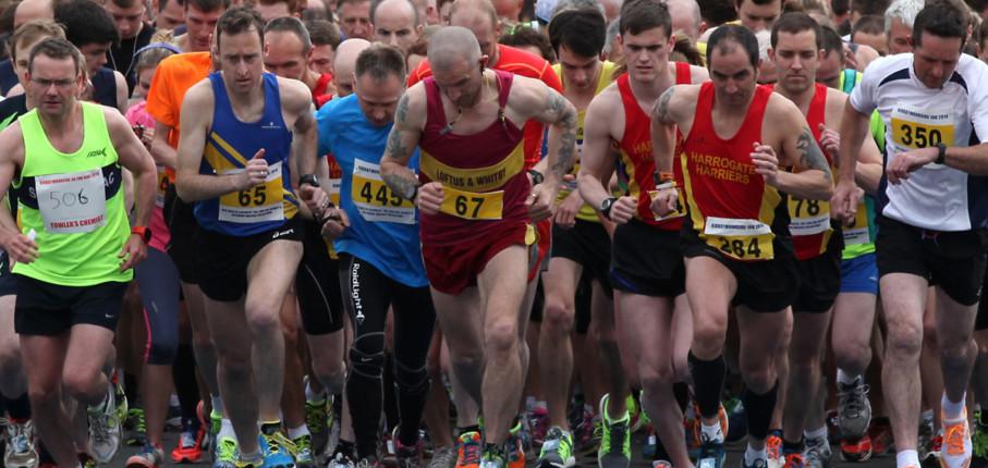 Race Start Photo