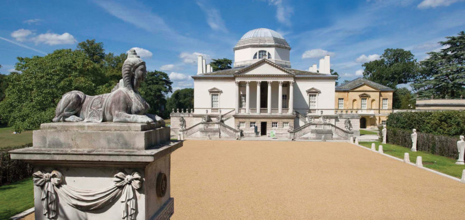 Chiswick House Forecourt1