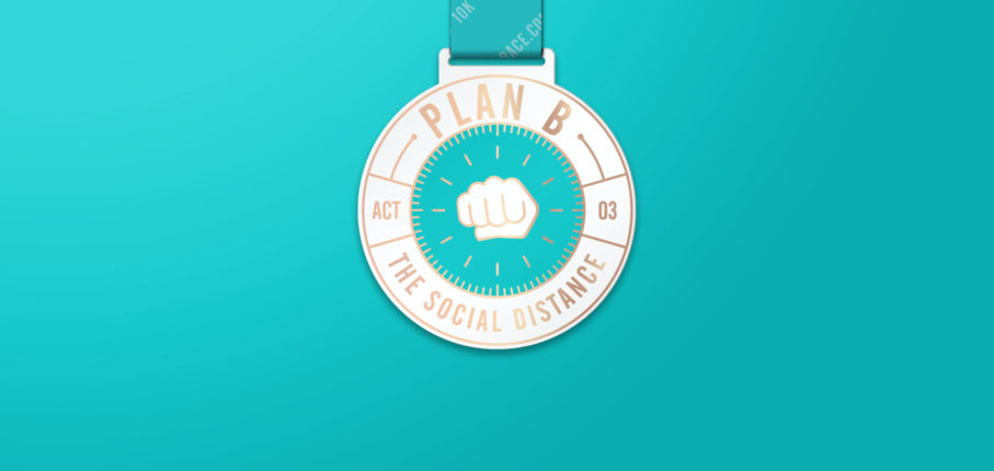 Plan B Medal Blue