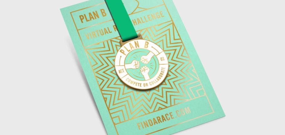 Plan B Medal Mockup