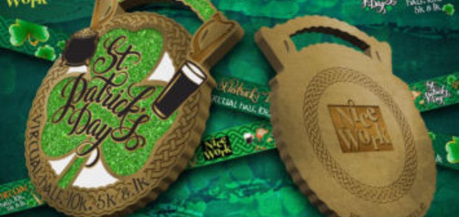 St Paddys Medal