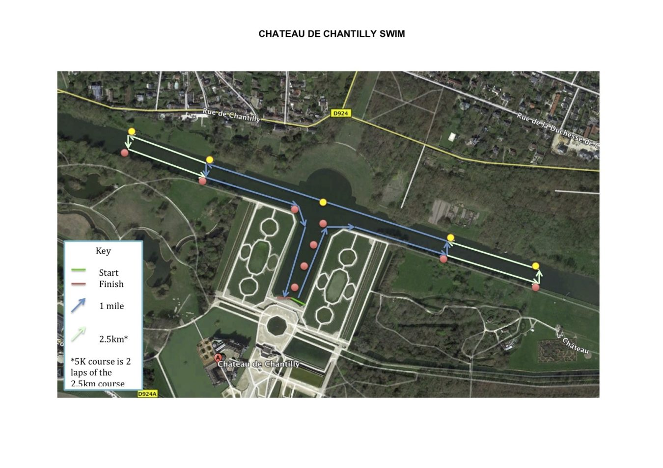Chateau De Chantilly Swim
