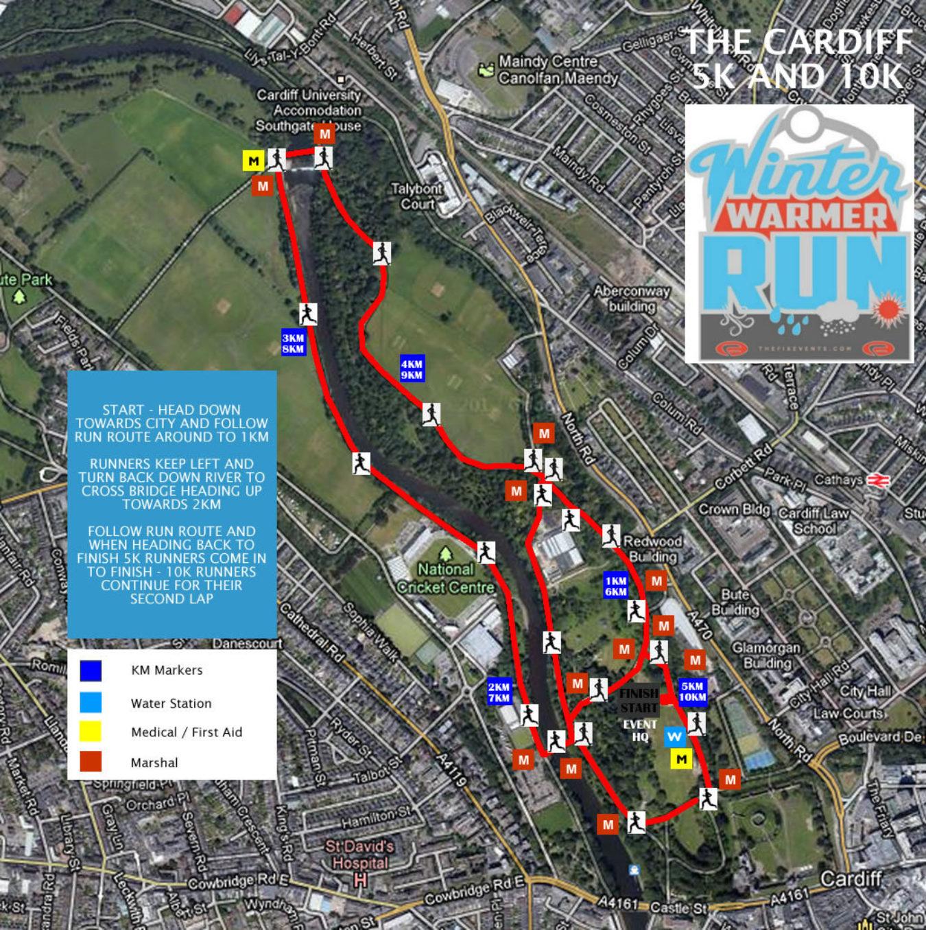 Cardiff Wwrun2019 5K New