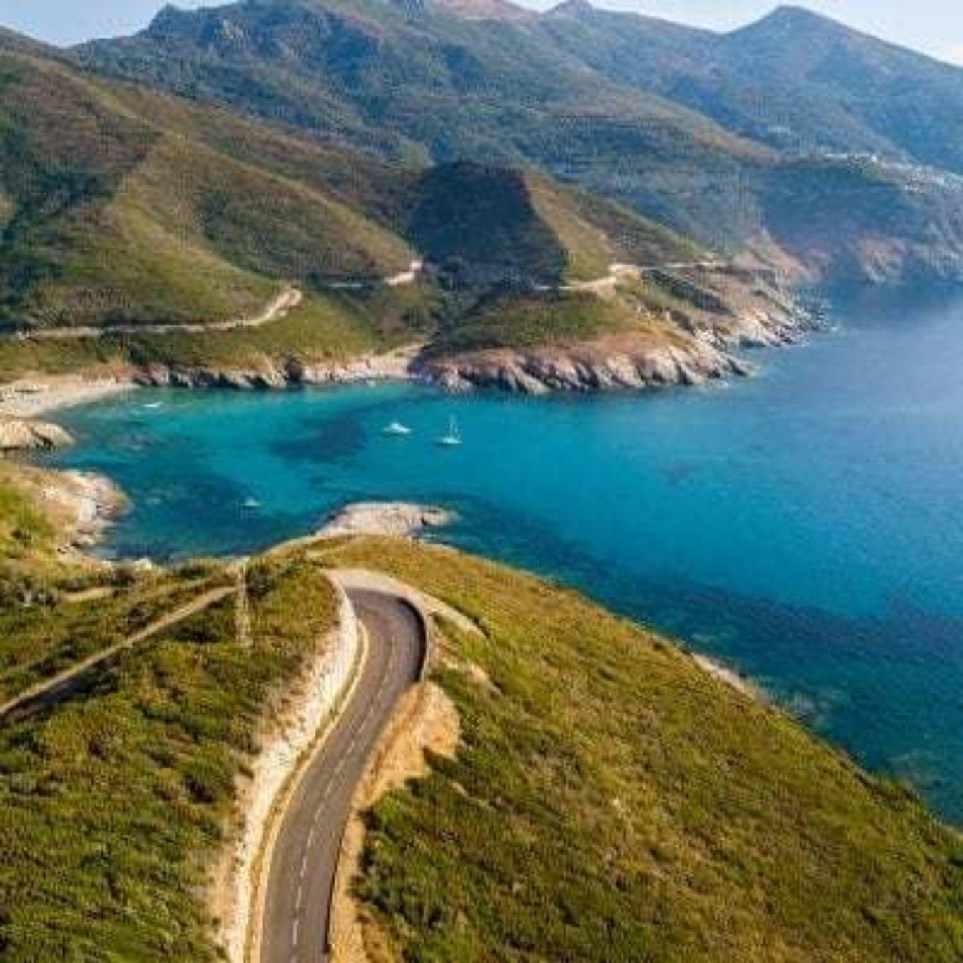 Corsica Cycling Ocean Road 400X400