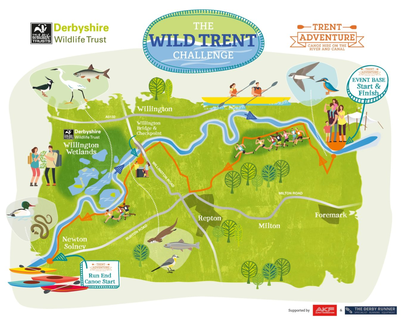 Dwt Wild Trent Challenge Illustrative Map 0