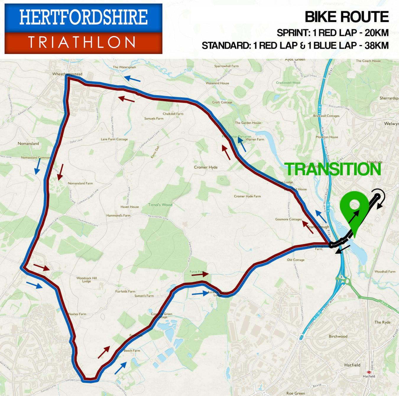 Herts Tri Bike