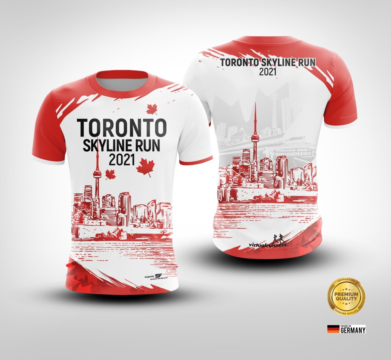 Jersey Poster Toronto Skyline Run2021 2 01