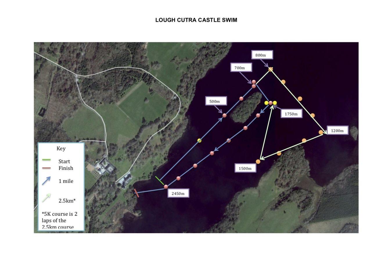Lough Cutra Castle Swim
