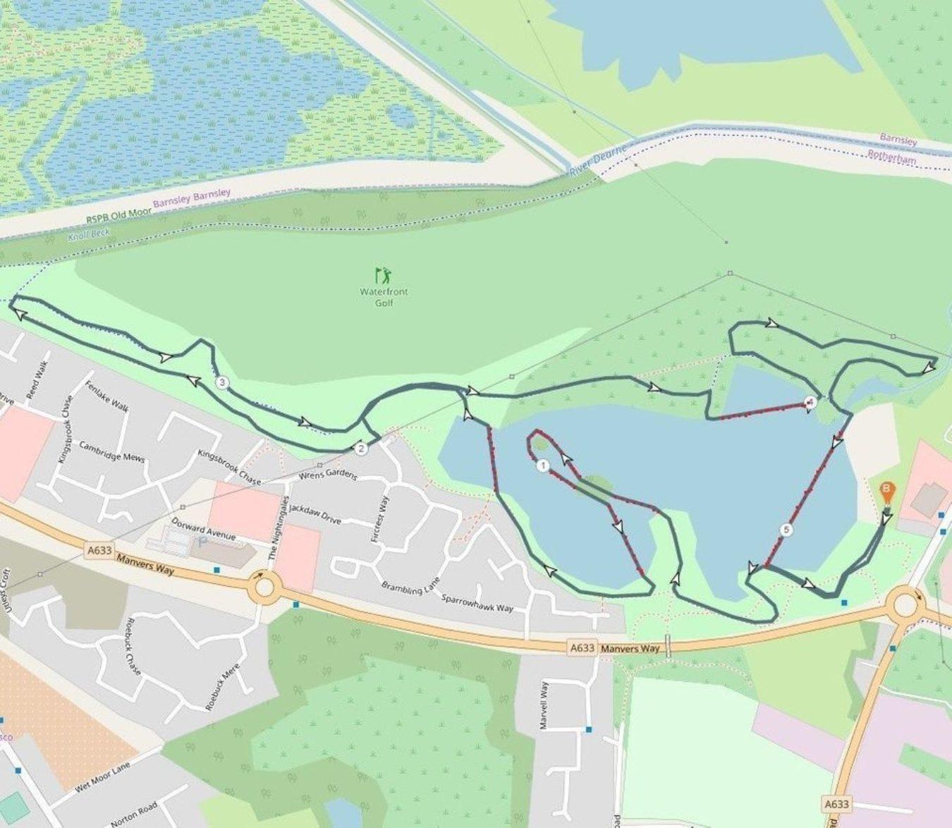 Manvers Lake 5 K 960W