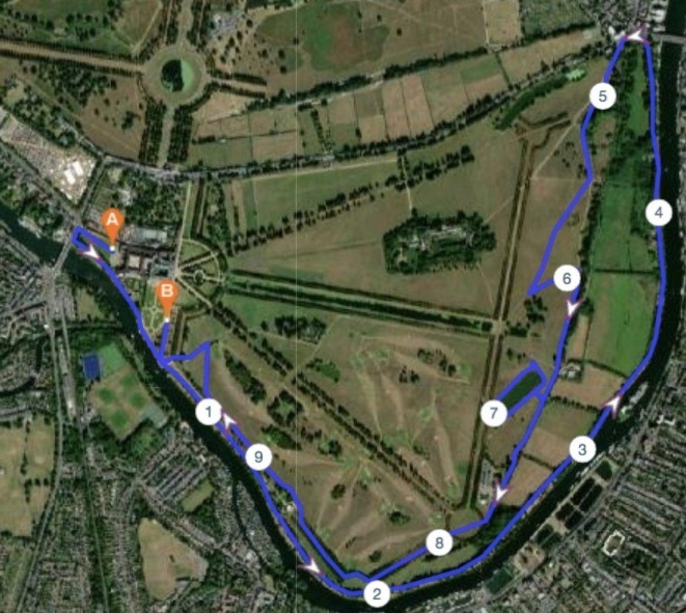 Palace10K Course